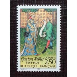 FRANCE N° 2708 neuf sans charnière de 1991 - 2f50 « Sixième centenaire de la mort de Gaston Fébus »