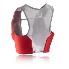 Salomon S-Lab Sense Set Homme Femmes Rouge Sac � Dos Veste Eau Gilet Hydratation