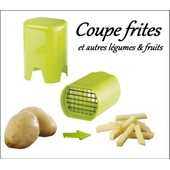 Coupe Frites / L�gumes Fruits Manuel - Boite Salade Rapide - Lame Inox