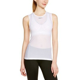 Craft Stay Cool Superlight Maillot Sans Manches Femme Blanc Fr : Xs Taille Fabricant : Xs