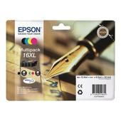 Epson 16xl Multipack - Pack De 4 - Taille Xl - Noir, Jaune, Cyan, Magenta - Original
