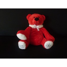 Peluche Ours Rouge Nocibe 2013