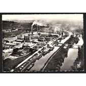 Carte Postale Ancienne 10x15. France, 51 Marne, Couvrot. L'usine, Les Ciments Fran�ais. Edt. Lapie