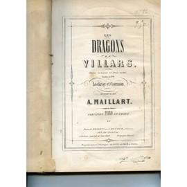 Petite Fantaisie sur les Dragons de Villars de A. Maillart- Pour Piano
