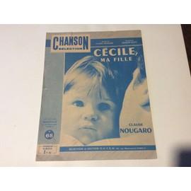 Claude nougaro CÉCILE MA FILLE