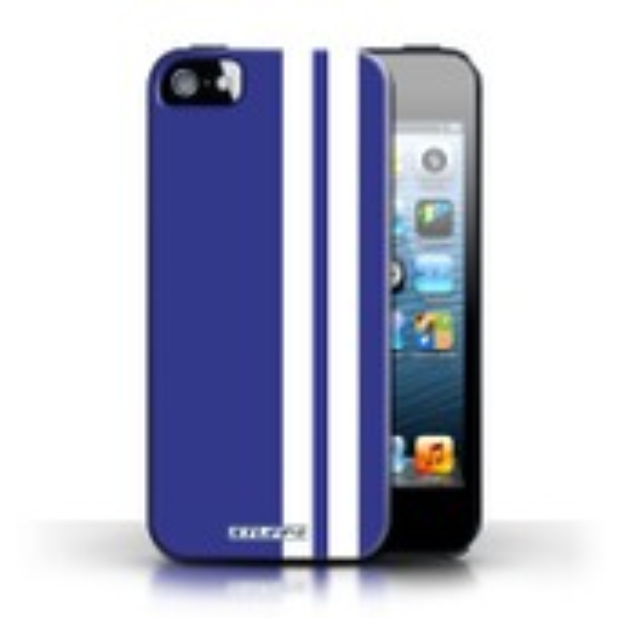 Coque De Stuff4 / Coque/Etui/Housse Pour Apple Iphone 5/5s / Gordini Design / Rayures Voiture Course Collection