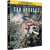 San Andreas (Ultimate Edition) - Combo Blu-Ray 3d + Blu-Ray + Dvd + Copie Digitale de Brad Peyton