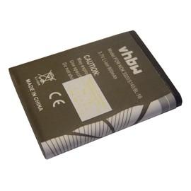 Batterie Li-Ion vhbw 900mAh (3.7V) pour Smartphone, tÈlÈphone VERTU Constellation comme Nokia BL-5B.