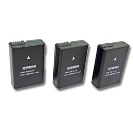 Lot 3 batteries pas cher