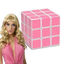 Cube Magique Rose Pour Blondes Magic Casse-T�te