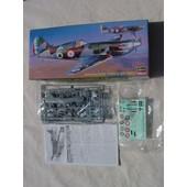 Hasegawa Maquette Avion Dewoitine D520 Armee De L'air Fr Ww2 N:B