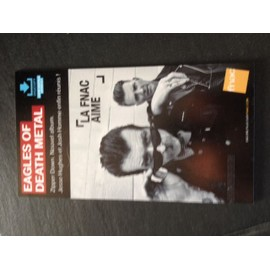 eagles of death metal PLV FNAC CARTON RIGIDE 2015