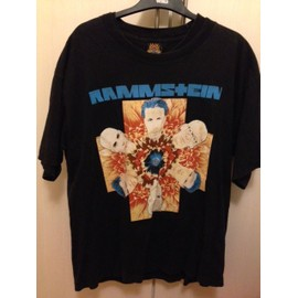 RAMMSTEIN T SHIRT REcto Verso Taille XL