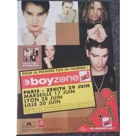 poster a4 boyzone