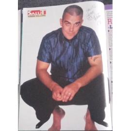 poster a4 robbie williams