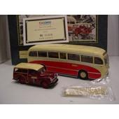 Corgi Toys Coffret Transport En Commun Bartons, Autocar+ Voiture N/B Tirage Limite