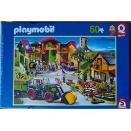Playmobil Puzzle La Ferme 60 Pi�ces Pocket Quick