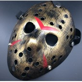 Masque V�ritable Jason Voorhees Vendredi 13 Freddy Hockey Airsoft Deguisement Halloween