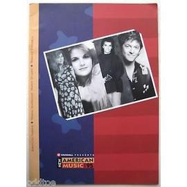 NEW AMERICAN MUSIC Tour 1995 EMMYLOU HARRIS TRISHA YEARWOOD MARTY STUART RODNEY CROWELL