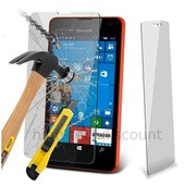 Film De Protection Vitre Verre Trempe Transparent Pour Microsoft Lumia 550