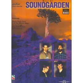 best of soundgarden for bass (guitar with tablature)