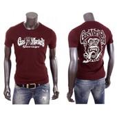 T-Shirt Uraeus Recto Verso Gasmonkey Gas Monkey Garage