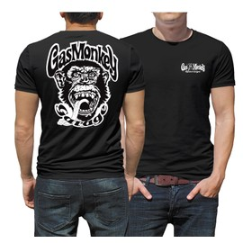 T-Shirt Gas Monkey Garage Dallas Texas Gasmonkey Face Et Dos
