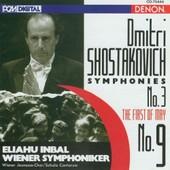 Symphonies Nos. 3 & 9 Symph. De Vienne - Dimitri Chostakovitch