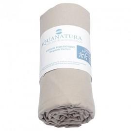 Drap Housse Coton Bio Aquanatura - Couleur - Coton Naturel, Dimensions Draps Housse - 180x200