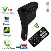 Car Mp3 Player Wireless Bluetooth Fm Transmitter Talking For Mobile Phone Ma324