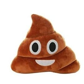 Peluche Emoji Caca Pillow Poo Original Cadeau Qualit� Premium