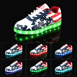 Chaussures Led 7 Couleurs - Usb Charge - Baskets Unisexe Homme Femme