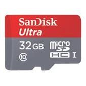 SanDisk Ultra microSDHC 32Go UHS-I carte m�moire pour tablette