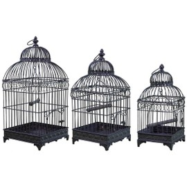 cage oiseaux decorative pas cher en france jusqu 39 70 de. Black Bedroom Furniture Sets. Home Design Ideas