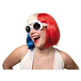 Perruque Tricolore Femme - 47432
