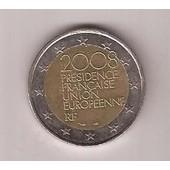 Pi�ce 2 Euros Commemorative 2008 Presidence Francaise Ue