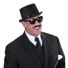 Lunettes Moustache Noires Adulte - 68191