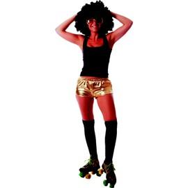 Shorty Disco Dor� Brillant Femme - 71957
