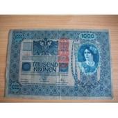 Autriche.Tr�s Beau Billet De 1000 Kronen 1902.