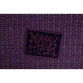 """Patch groupe """"Napalm Death"""" lettrage rouge fond noir"""