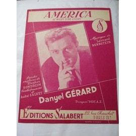 """América - du film """"West side story"""" - Chantée par Danyel Gérard"""
