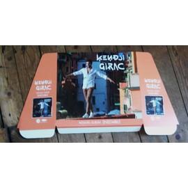 rare PLV officielle cartonnée 60x33cm KENDJI GIRAC nouvel album 2015 ENSEMBLE