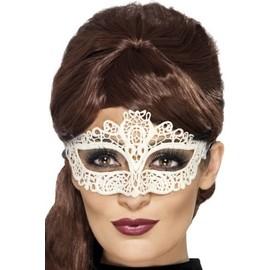 Masque Dentell� Blanc Femme,
