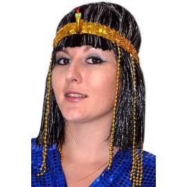 Bandeau �gyptien Avec Serpent Et Perles