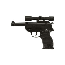 Pistolet Jackson 13 Coups 19.5 Cm Metal Et Pvc