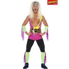 Costume Wrestler Champion Ann�es 90 Taille : L