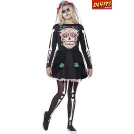 D�guisement Sugar Skull Taille S