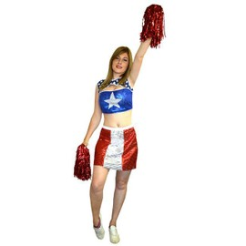Costume Pompom Girl Us Taille 38/40