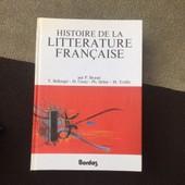 Histoire De La Litterature Francaise. de BRUNEL / BELLENGER / COUTY / SELLIER / TRUFFET