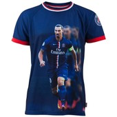 Maillot Psg - Zlatan Ibrahimovic - Collection Officielle Paris Saint Germain - Taille Adulte Homme